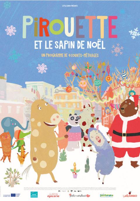 Pirouette et le sapin de Noël & petits contes sous la neige
