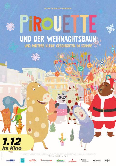 Pirouette und der Weihnachtsbaum & kleine Geschichten im Schnee